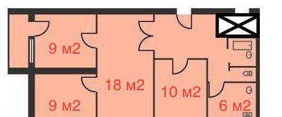 Продажа четырёхкомнатной квартиры Москва, метро Новослободская, Сиреневый бульвар 67к2, цена 9490000 рублей, 2021 год объявление №1846 на megabaz.ru