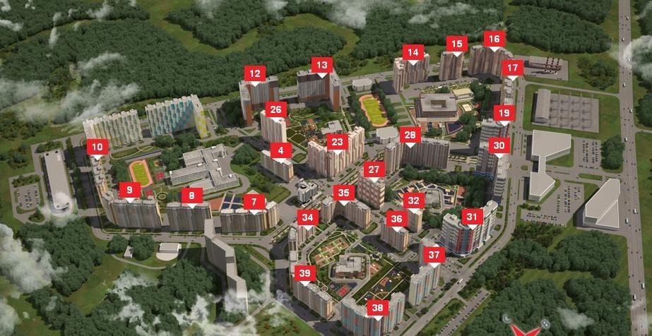 Купить однокомнатную квартиру в Населенном пункте новая москва - megabaz.ru