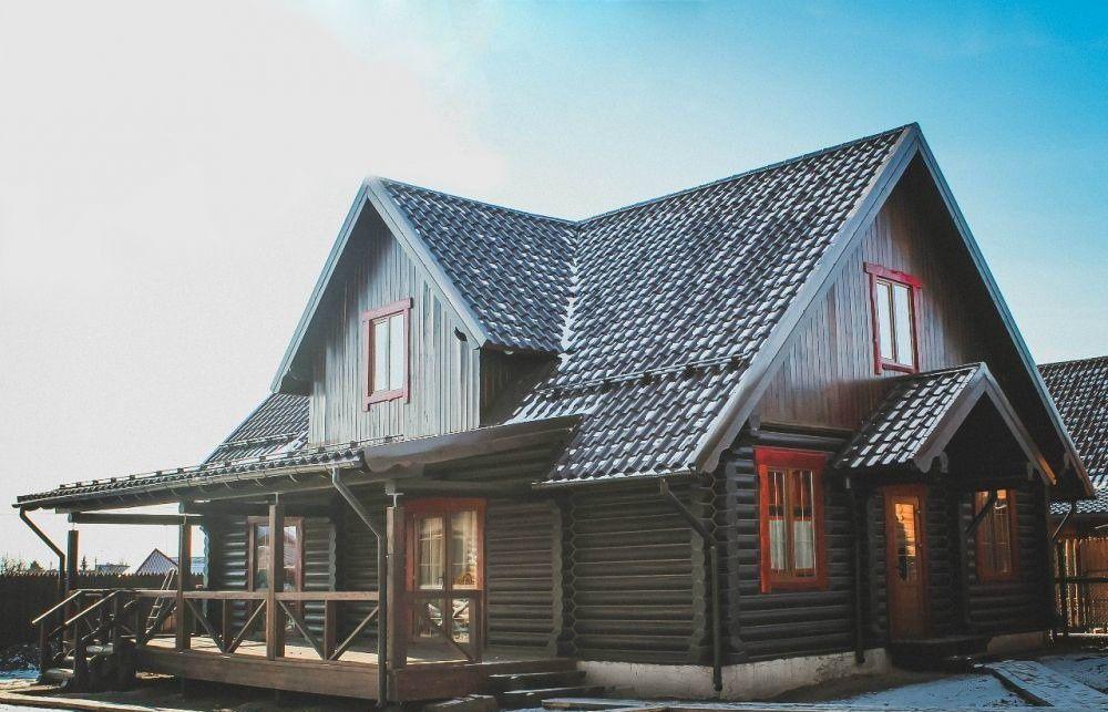 Аренда дома деревня Чёрная, Пограничная улица, цена 14000 рублей, 2021 год объявление №496603 на megabaz.ru