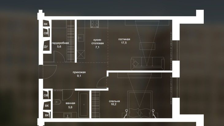 Продажа студии Москва, метро Курская, Гороховский переулок 12, цена 20928000 рублей, 2021 год объявление №116624 на megabaz.ru
