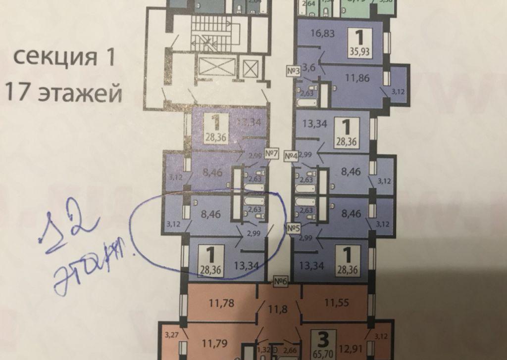 Продажа однокомнатной квартиры деревня Боброво, метро Аннино, цена 2800000 рублей, 2020 год объявление №201213 на megabaz.ru