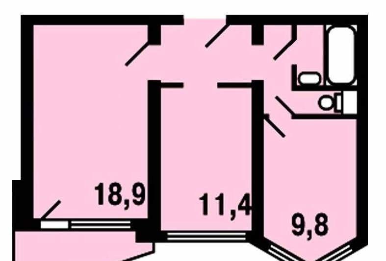 Продажа двухкомнатной квартиры деревня Боброво, метро Бульвар Дмитрия Донского, цена 4600000 рублей, 2020 год объявление №157419 на megabaz.ru