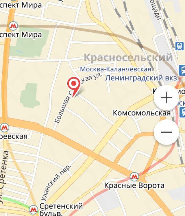Продажа двухкомнатной квартиры Москва, метро Сухаревская, Большая Спасская улица 4с1, цена 12500000 рублей, 2021 год объявление №202168 на megabaz.ru