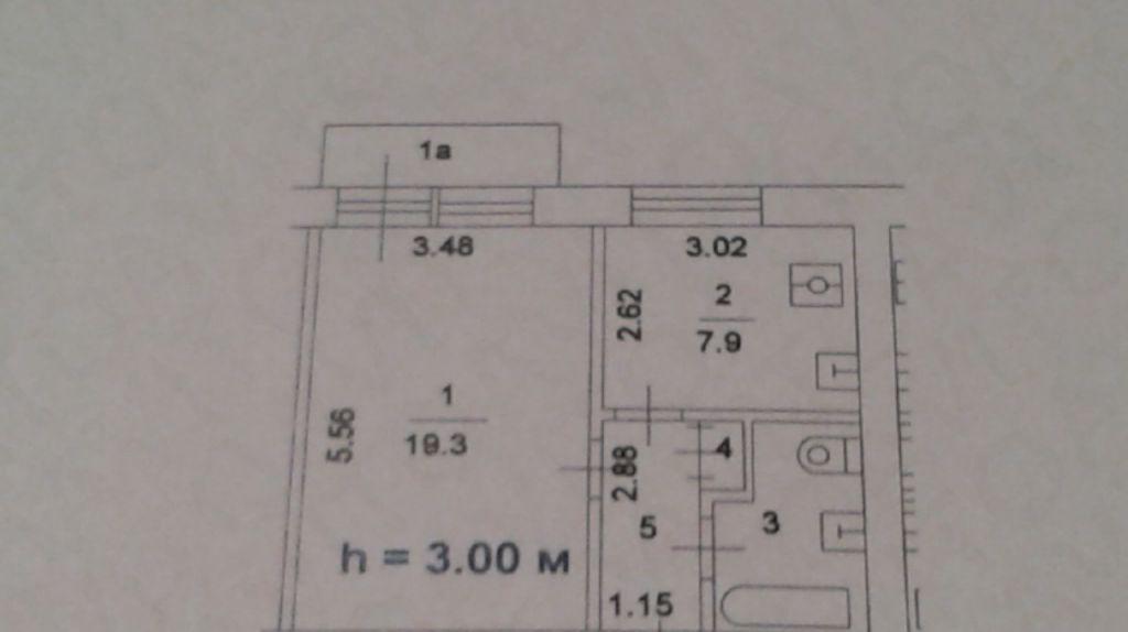 Продажа однокомнатной квартиры Москва, метро Каширская, Каширское шоссе 44к1, цена 5700000 рублей, 2021 год объявление №197512 на megabaz.ru