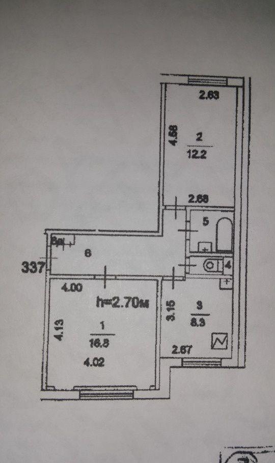 Продажа двухкомнатной квартиры Москва, метро Каширская, Коломенский проезд 14к1, цена 10200000 рублей, 2021 год объявление №204503 на megabaz.ru