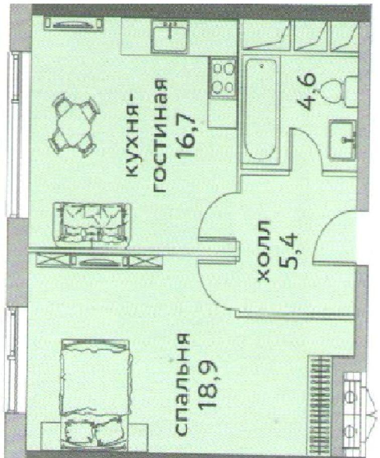 Продажа двухкомнатной квартиры Москва, метро Площадь Ильича, улица Золоторожский Вал 11с1, цена 9500000 рублей, 2021 год объявление №236566 на megabaz.ru