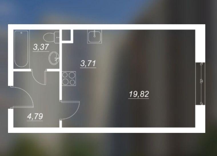 Продажа однокомнатной квартиры Москва, метро Полянка, проспект 40 лет Октября вл36, цена 5400000 рублей, 2021 год объявление №242116 на megabaz.ru