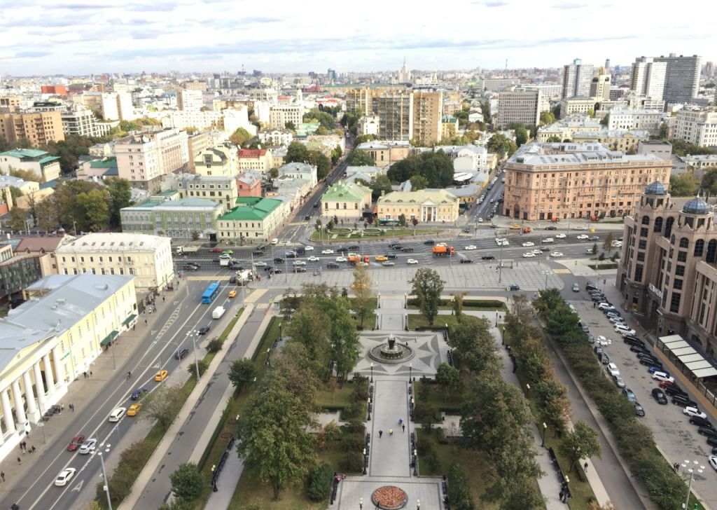 Продажа трёхкомнатной квартиры Москва, метро Баррикадная, Кудринская площадь 1, цена 78100000 рублей, 2021 год объявление №242349 на megabaz.ru