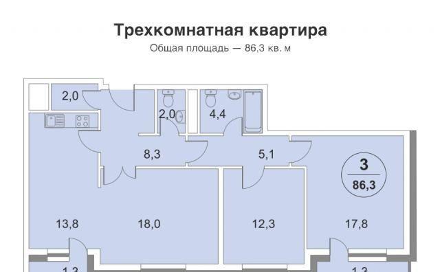 Продажа трёхкомнатной квартиры Москва, метро Филевский парк, 2-я Филёвская улица 6, цена 21600000 рублей, 2021 год объявление №242719 на megabaz.ru