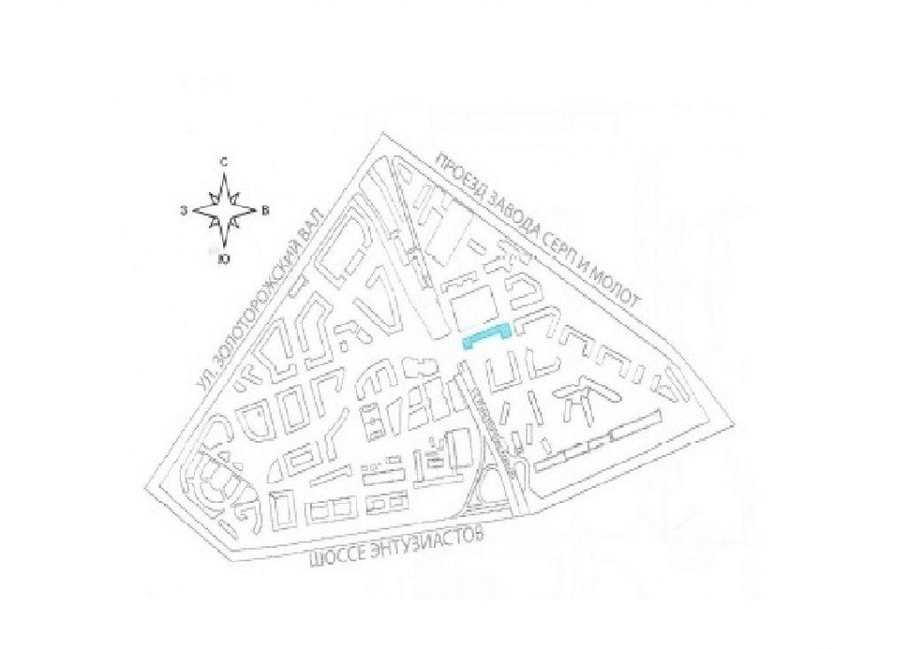 Продажа трёхкомнатной квартиры Москва, метро Площадь Ильича, цена 20450000 рублей, 2021 год объявление №244326 на megabaz.ru