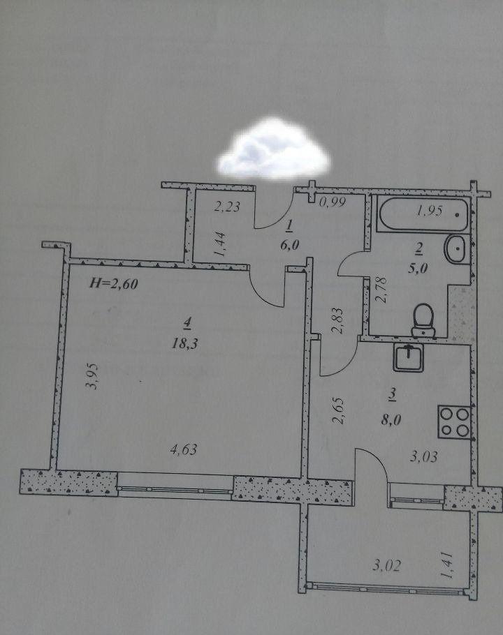 Продажа однокомнатной квартиры Москва, метро Полянка, цена 2370000 рублей, 2021 год объявление №245954 на megabaz.ru