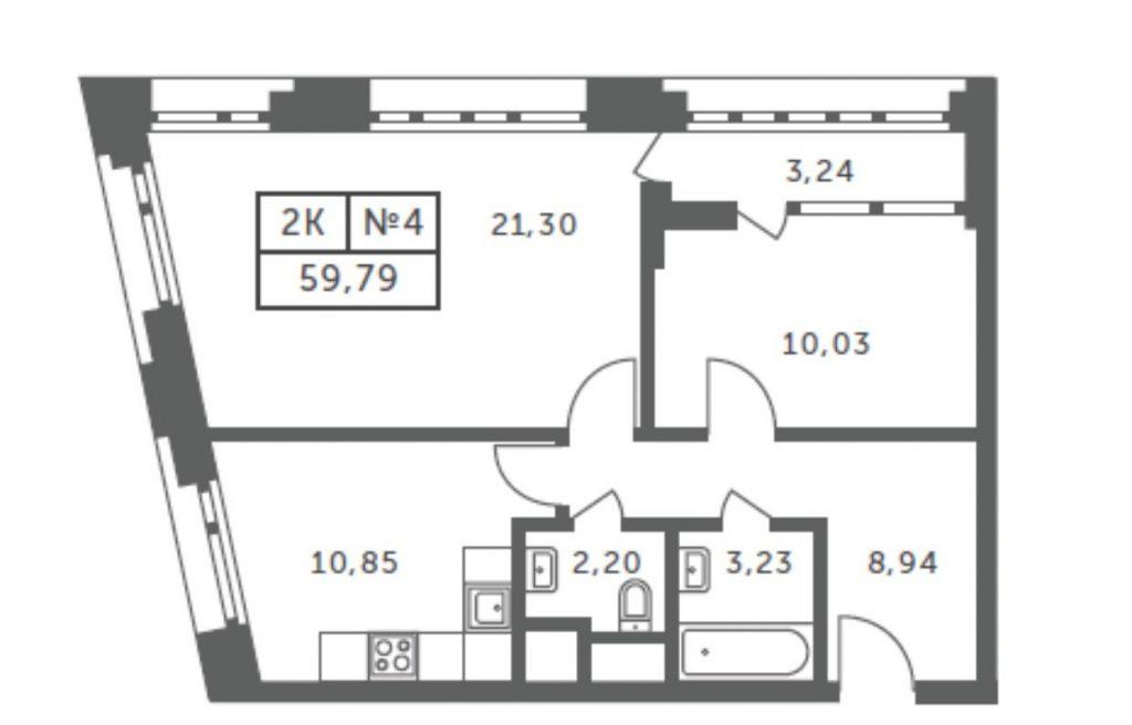 Продажа двухкомнатной квартиры Москва, метро Павелецкая, Шлюзовая набережная 2А, цена 8500000 рублей, 2021 год объявление №248529 на megabaz.ru