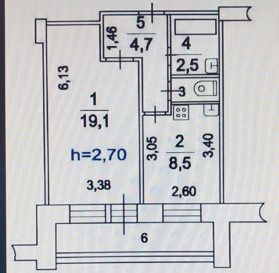 Продажа однокомнатной квартиры Москва, метро Павелецкая, улица Зацепа 22, цена 12400000 рублей, 2021 год объявление №253660 на megabaz.ru