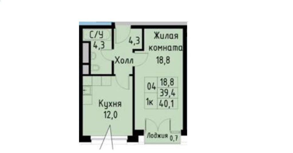 Продажа однокомнатной квартиры Москва, метро Фили, Заречная улица 2/1с12, цена 9500000 рублей, 2021 год объявление №259382 на megabaz.ru