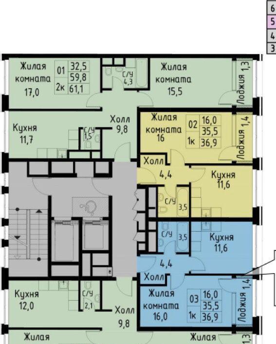 Продажа однокомнатной квартиры Москва, метро Фили, цена 10450000 рублей, 2021 год объявление №261993 на megabaz.ru