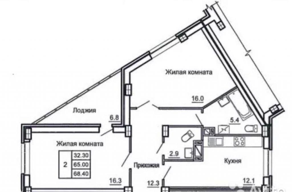 Продажа трёхкомнатной квартиры Подольск, метро Театральная, Большая Серпуховская улица 5, цена 4400000 рублей, 2020 год объявление №264046 на megabaz.ru