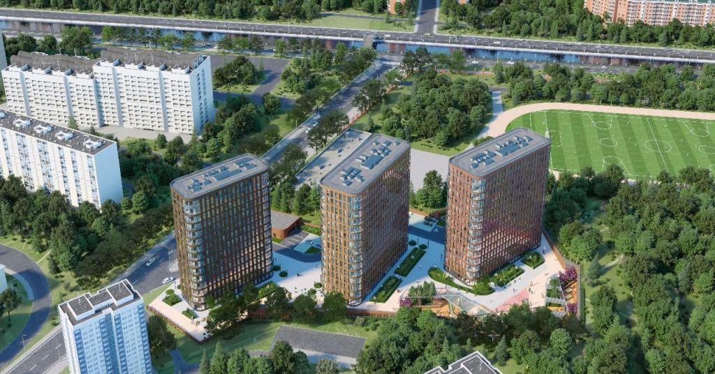 Купить двухкомнатную квартиру в Москве у метро Семеновская - megabaz.ru