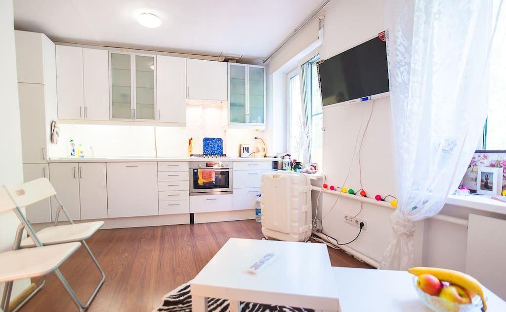 Аренда двухкомнатной квартиры Москва, метро Баррикадная, Грузинский переулок 8, цена 45000 рублей, 2021 год объявление №892102 на megabaz.ru
