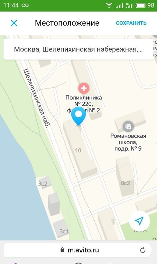 Продажа студии Москва, метро Фили, Шелепихинская набережная 10, цена 4100000 рублей, 2021 год объявление №271140 на megabaz.ru