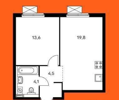 Купить однокомнатную квартиру в Москве у метро Бибирево - megabaz.ru