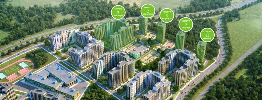 Продажа студии деревня Рузино, цена 3391964 рублей, 2020 год объявление №271518 на megabaz.ru