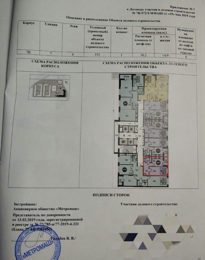Купить однокомнатную квартиру в Москве у метро Бульвар Рокоссовского - megabaz.ru