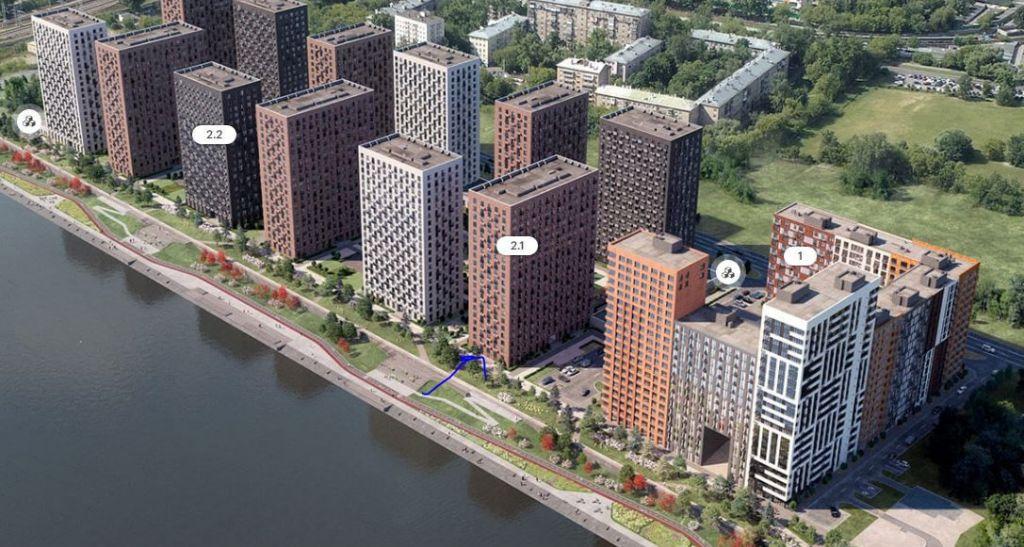 Продажа однокомнатной квартиры Москва, метро Фили, цена 9000000 рублей, 2021 год объявление №271523 на megabaz.ru