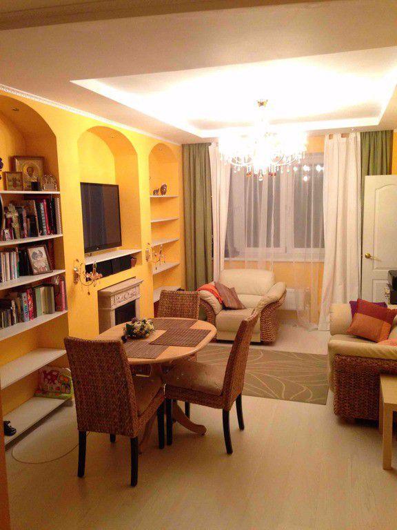 Аренда трёхкомнатной квартиры поселок Аничково, цена 30000 рублей, 2021 год объявление №335522 на megabaz.ru