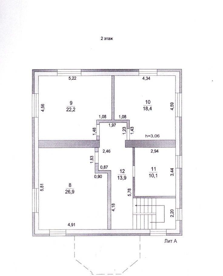 Продажа дома деревня Поповка, Заозёрная улица 39, цена 10900000 рублей, 2021 год объявление №284652 на megabaz.ru