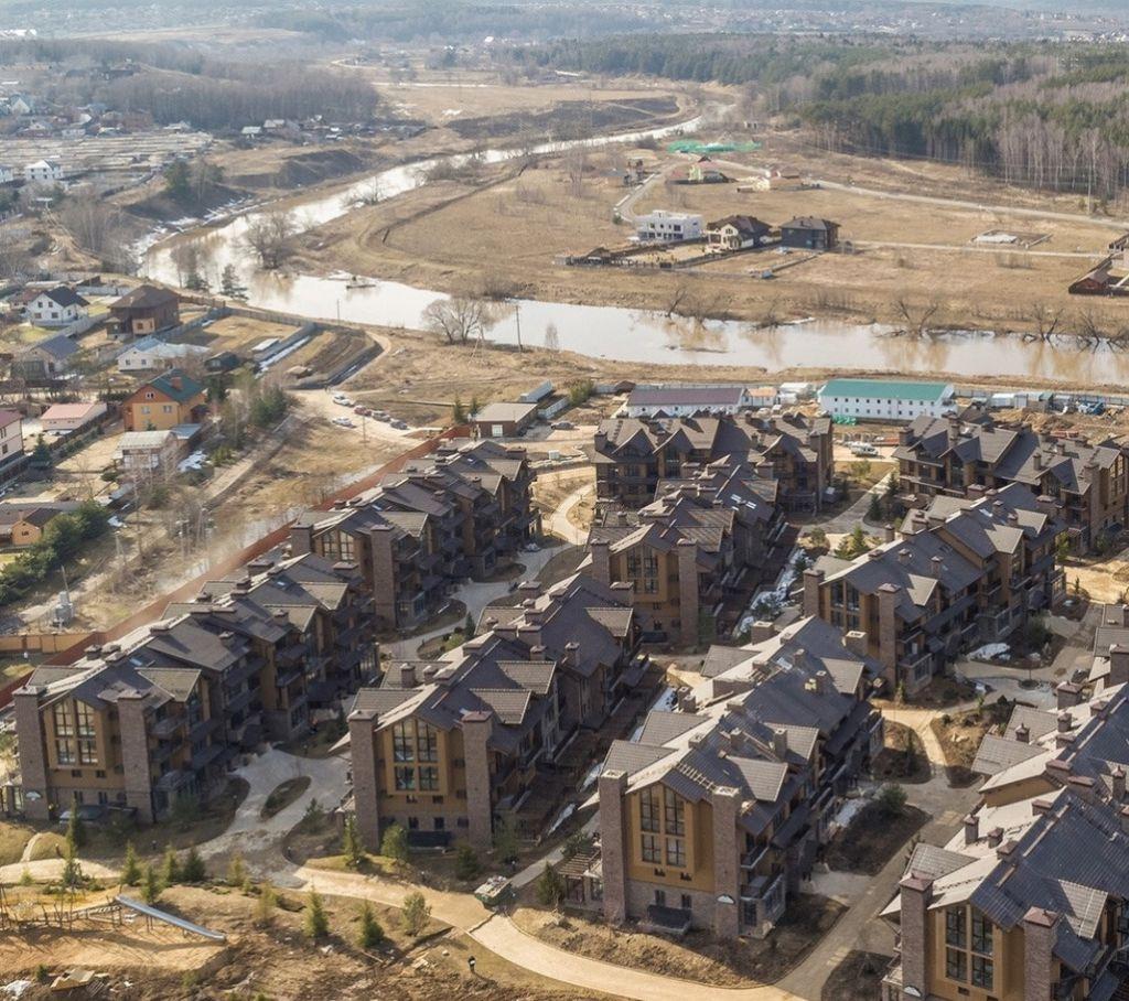 Продажа однокомнатной квартиры село Павловская Слобода, цена 3150000 рублей, 2021 год объявление №289772 на megabaz.ru