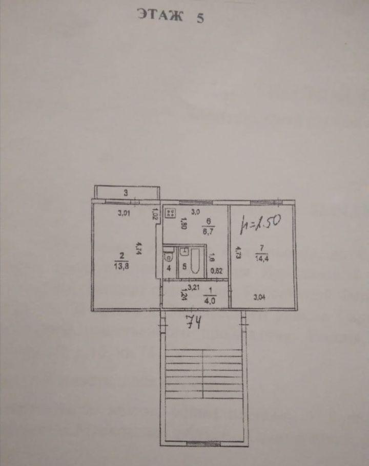 Продажа двухкомнатной квартиры Кубинка, цена 2200000 рублей, 2021 год объявление №316954 на megabaz.ru