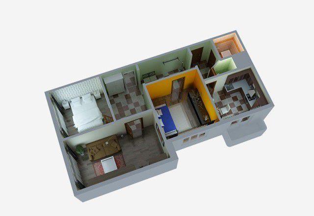 Купить трёхкомнатную квартиру в Деревне боброво - megabaz.ru