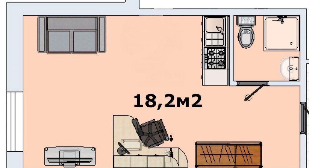 Продажа однокомнатной квартиры Москва, метро Бульвар адмирала Ушакова, Бартеневская улица 41к1, цена 2650000 рублей, 2021 год объявление №322510 на megabaz.ru