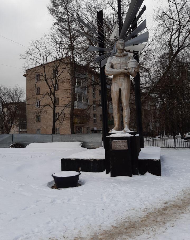 Продажа однокомнатной квартиры поселок городского типа Монино, Комсомольская улица 2, цена 2400000 рублей, 2021 год объявление №323629 на megabaz.ru