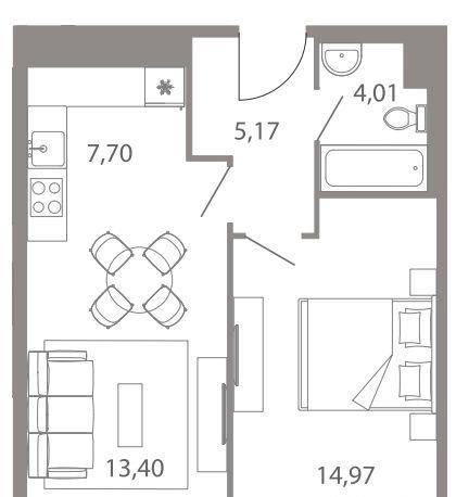 Продажа двухкомнатной квартиры Москва, метро Варшавская, Каширский проезд 25к7, цена 7999999 рублей, 2021 год объявление №329018 на megabaz.ru