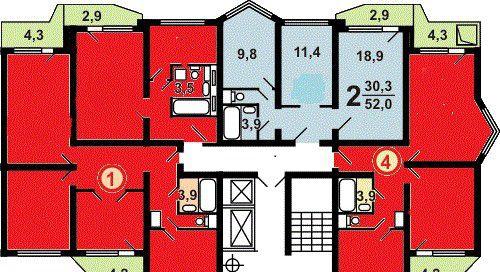 Продажа двухкомнатной квартиры город Люберцы, метро Выхино, мкр красная горка 22к2, цена 6500000 рублей, 2020 год объявление №8498 на megabaz.ru