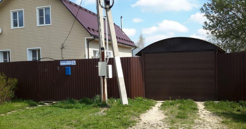 Продажа дома Верея, Берёзовая аллея 5, цена 4200000 рублей, 2021 год объявление №332190 на megabaz.ru