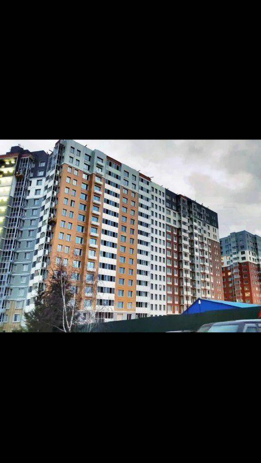 Продажа однокомнатной квартиры деревня Бородино, Малая Бородинская улица 1к3, цена 2450000 рублей, 2021 год объявление №332678 на megabaz.ru