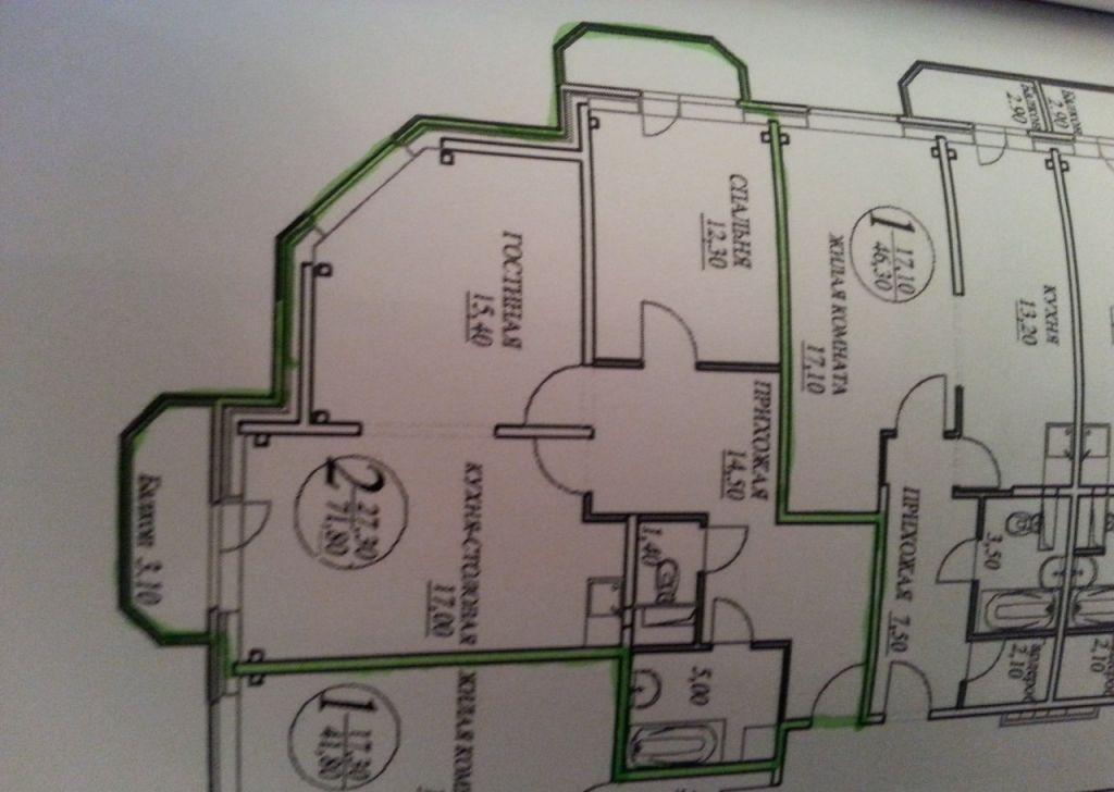 Продажа двухкомнатной квартиры село Рождествено, Сиреневый бульвар 5, цена 5900000 рублей, 2021 год объявление №333173 на megabaz.ru