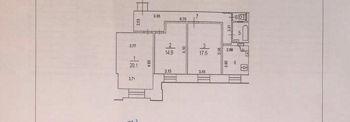 Продажа трёхкомнатной квартиры Москва, метро Электрозаводская, улица Госпитальный Вал 5к18, цена 21200000 рублей, 2021 год объявление №334252 на megabaz.ru