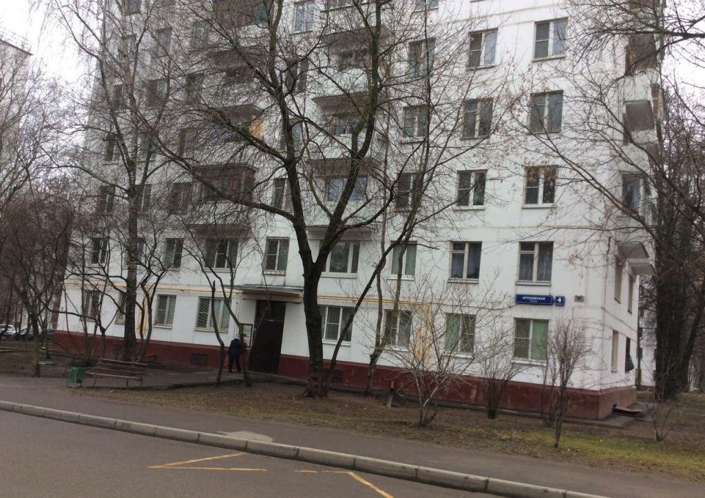 Продажа однокомнатной квартиры Москва, метро Варшавская, Артековская улица 4к1, цена 6500000 рублей, 2021 год объявление №335466 на megabaz.ru