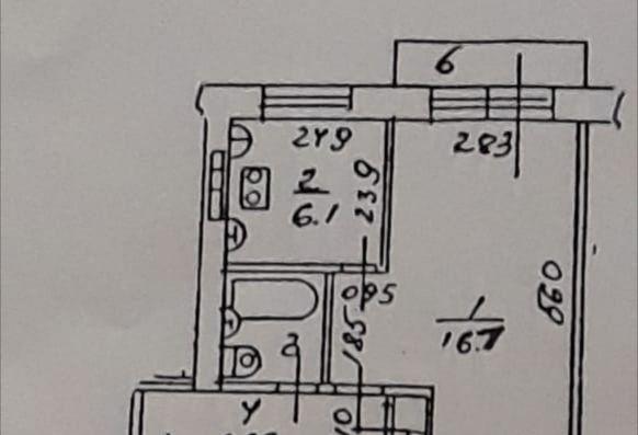 Продажа однокомнатной квартиры поселок городского типа Монино, Комсомольская улица 1А, цена 2350000 рублей, 2021 год объявление №335481 на megabaz.ru