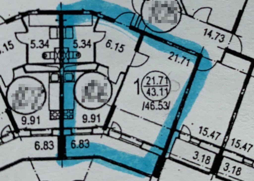 Продажа однокомнатной квартиры Истра, улица Главного Конструктора В.И. Адасько 7к2, цена 5200000 рублей, 2021 год объявление №336046 на megabaz.ru
