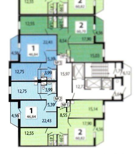 Аренда однокомнатной квартиры деревня Путилково, метро Планерная, Сходненская улица 7, цена 33000 рублей, 2021 год объявление №977325 на megabaz.ru