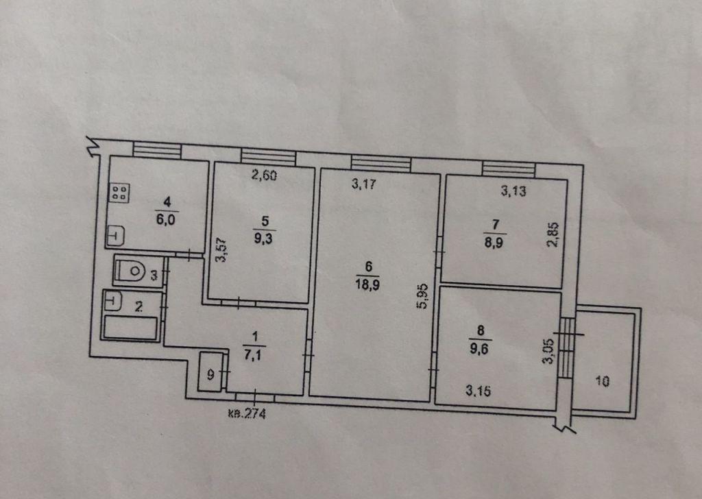 Продажа четырёхкомнатной квартиры поселок Развилка, метро Зябликово, цена 7500000 рублей, 2021 год объявление №345296 на megabaz.ru