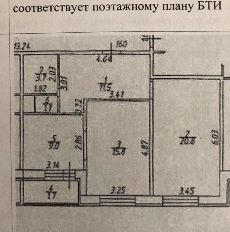 Продажа двухкомнатной квартиры село Рождествено, Сиреневый бульвар 22, цена 5800000 рублей, 2021 год объявление №345758 на megabaz.ru
