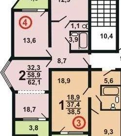 Продажа двухкомнатной квартиры деревня Бутово, цена 6400000 рублей, 2021 год объявление №231185 на megabaz.ru