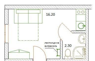Продажа студии поселок городского типа Красково, метро Жулебино, цена 1990000 рублей, 2020 год объявление №50631 на megabaz.ru