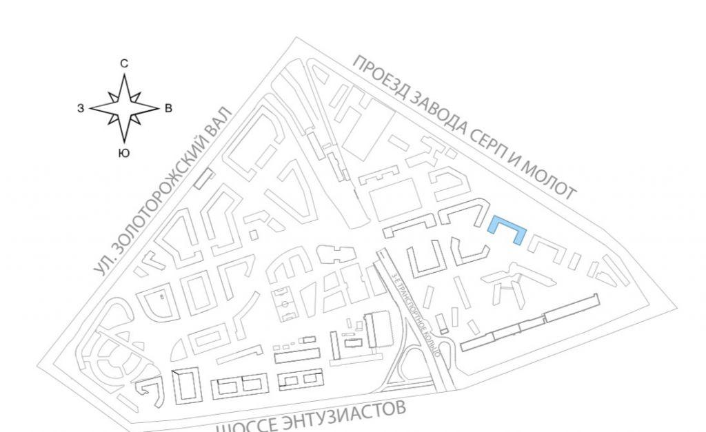 Продажа однокомнатной квартиры Москва, метро Площадь Ильича, улица Золоторожский Вал 11с1, цена 8700000 рублей, 2021 год объявление №227312 на megabaz.ru