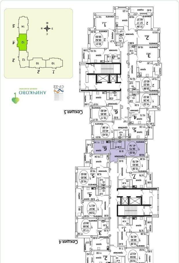 Аренда однокомнатной квартиры поселок Аничково, метро Щелковская, цена 13000 рублей, 2021 год объявление №416977 на megabaz.ru
